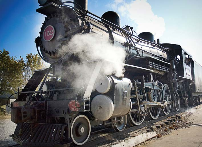 Bardstown is the location of two historic trains and is home to the Kentucky Railway Museum. (Photo provided by Bardstown Tourism)