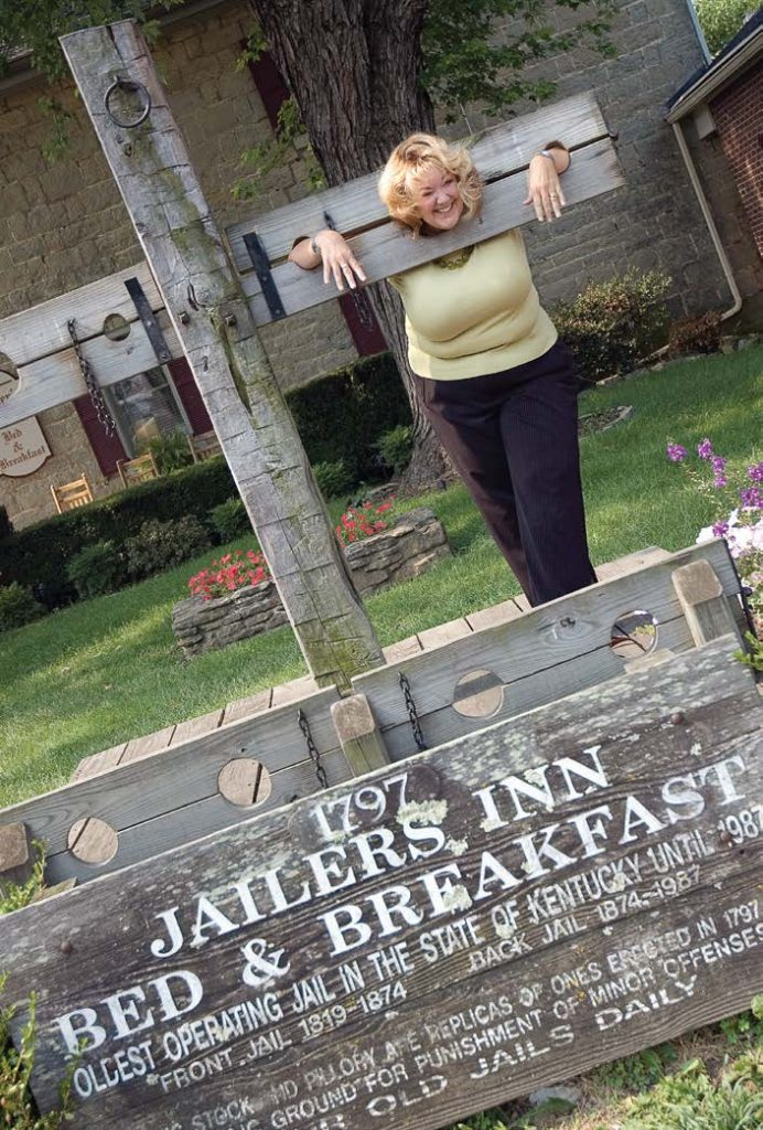 Dawn Przystal, executive director of Bardtown-Nelson County Tourist & Convention Commission, recommended that small towns focus on authenticity and experiences when enhancing their tourism product. Pictured is Bardstown's Jailer's Inn Bed and Breakfast. (Photo provided by Bardstown Tourism)