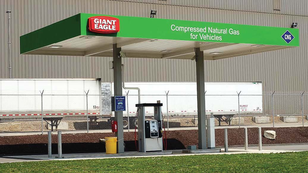 Natural Gas Stations >> Compressed Natural Gas Station The Municipal