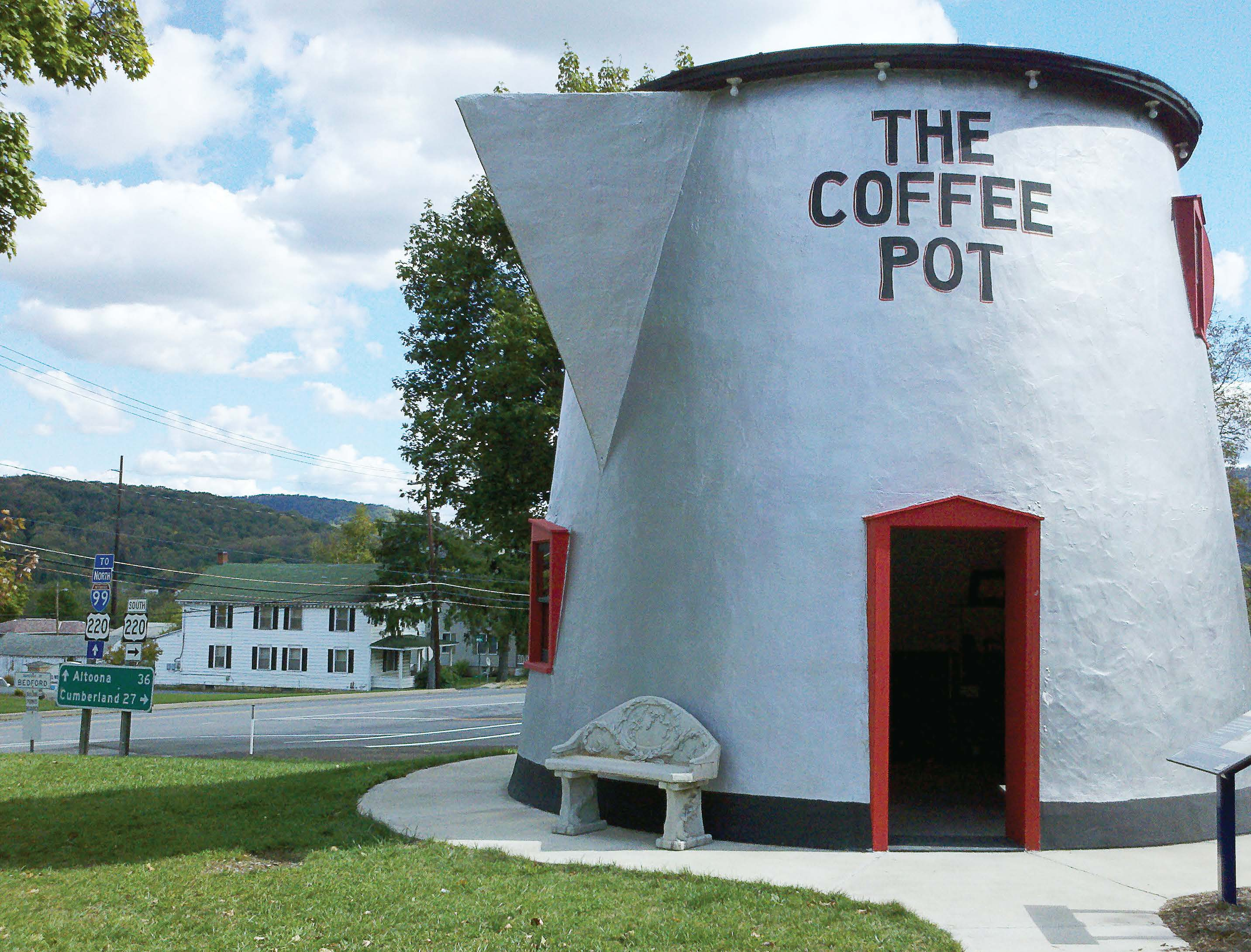 The Coffee Pot Bedford, Pa  – The Municipal