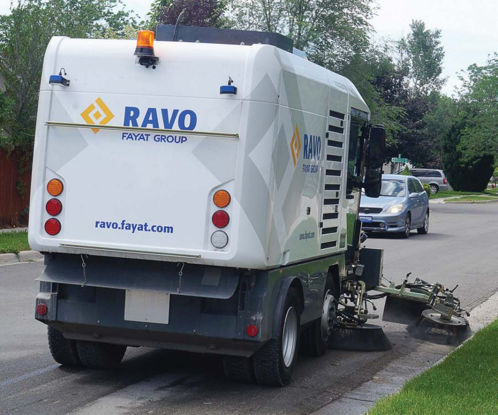 Every RAVO is designed with operator's comfort in mind. This includes an ergonomically designed cabin with an adjustable steering column, dashboard and armrest. (Photo provided)