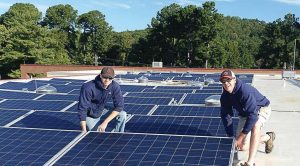 As Charlottesville continues transitioning to solar power, it also seeks out other means toward energy conservation and efficiency in buildings. (Photo provided)