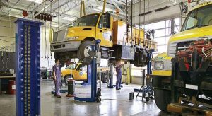 Milwaukee installs the same equipment on almost all its trucks to make it easier for its technicians to make repairs. (Photo provided)