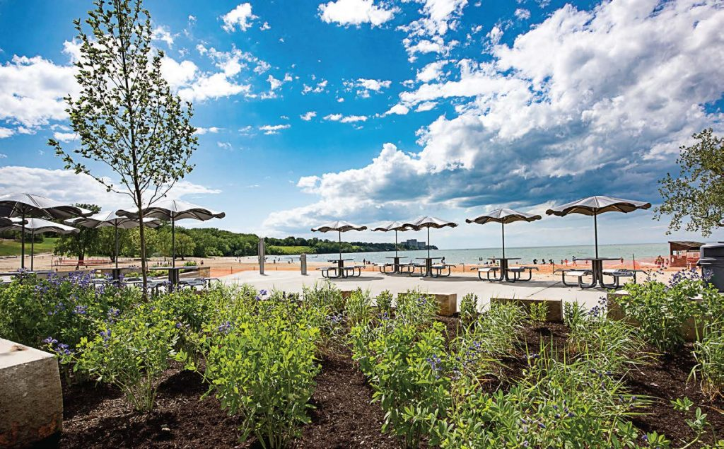 Cleveland Metroparks' new Edgewater Beach House offers breathtaking views of Lake Erie. (Photo provided by Cleveland Metroparks)