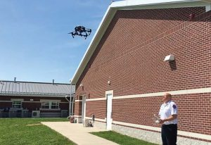 While the task of becoming certified to use drones can be overwhelming, the payoff of having this advanced technology is in how many people have been helped. (Photo provided)