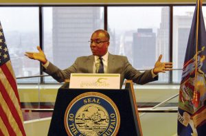 After years of revising the Green Code, Mayor Brown held a signing ceremony on Jan. 3, along with the Buffalo Common Council, to celebrate the approval of the unified development ordinance. (Photo provided by the city of Buffalo)
