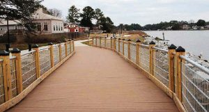 Pictured is the Haven Creek's elevated boardwalk in Virginia. With sea levels on the rise, states and localities will have to plan accordingly when it comes to coastal projects. (Photo provided)
