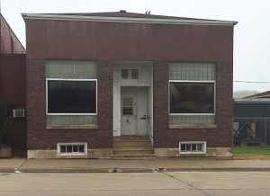 This city-owned building in Preston, Iowa, had been vacant for years and will be undergoing remodeling efforts throughout November to become a business incubator thanks to grant funding through the Iowa Department of Natural Resources. As the former clerk's office, Preston was plotted around it, making it important to improve the building. (Photo provided)