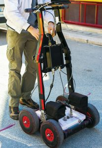 GPR offers many benefits for public works projects from mapping utility pipes or graves to checking a site for potential building hazards. (Shutterstock.com)