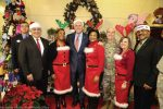 During the holiday season, Gov. Terry McAuliffe participates in many events, including ones that benefit military families. (Photo provided by Michaele White, office of the governor)