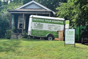 Not only does Better Futures Minnesota provide ex-convicts with employable skills, it also diverts building materials from the landfill by recycling them instead. (Photo provided)