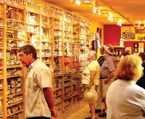 The museum has more than 6,000 different original mustard containers on display. The museum also hosts a tasting bar in the gift shop where patrons can sample more than 400 flavors of mustard. (Photo provided)