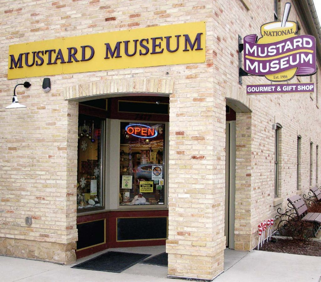 "The National Mustard Museum moved from its original location of Mt. Horeb with the help of the administration of Middleton, Wis. ""They were amazing,"" according to museum founder and curator Barry Levenson. (Photo provided)"