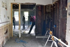 Roseville, Minn., has taken a proactive approach to code enforcement that includes a housing replacement program that works with Better Futures Minnesota and ex-convicts to dismantle homes. (Photo provided)