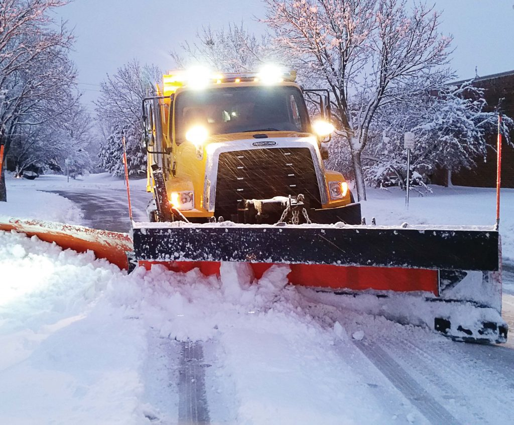 Buffalo Grove, Ill., updated its winter maintenance plan to include simple routing assignments, compared to the 40 plow routes and nine salt routes previously assigned. (Photo provided)