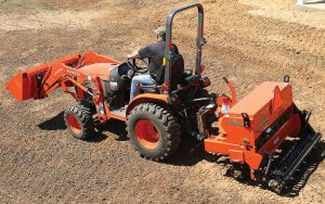 Since Land Pride is owned by Kubota Tractor Corporation, municipalities can save time and money when it comes to purchasing a tractor implement package that will meet their needs. (Photo provided)