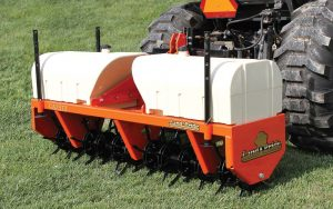 Land Pride dealers can help grounds maintenance managers by listening to their needs and recommending the right implements. (Photo provided)
