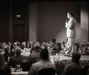 Josh Schneider's speeches also address millennials and developing them into leaders, changing workplace culture and being innovative towards employees. (Photo provided)