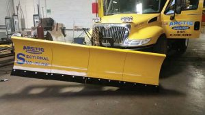 The power-angled Arctic Sectional Sno-Plow™, new for 2017, offers municipalities an exciting alternative to their standard plows with never before seen performance, safety and cost savings benefits.