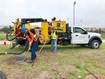 Vac-Tron's UCF AIR 373 SDT trailer vacuum excavator