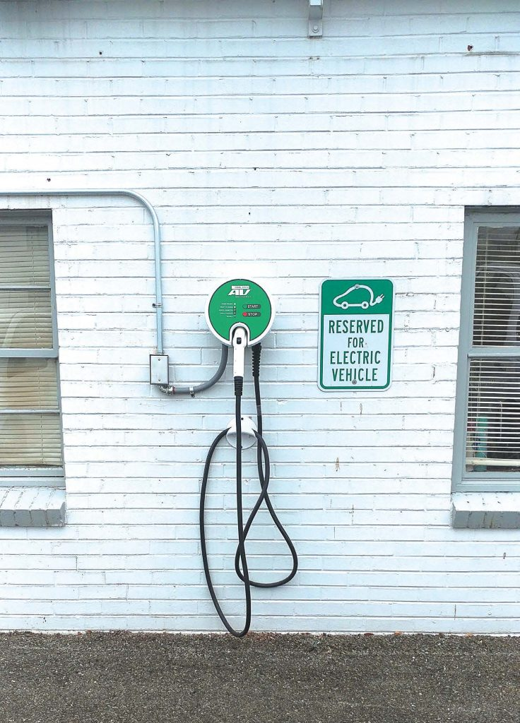 With 12 electric cars currently in use, the city of Roanoke, Va., has installed charging stations to keep them going. If the program continues to show promise, the city may increase the number of electric vehicles to as many as 20. (Photo provided)