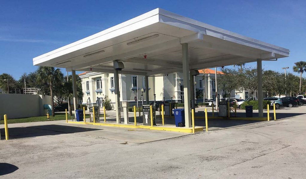 Miramar, Fla., has its own fuel depot that has 14 dispensers. Having the capacity to keep city vehicles running is critical during an emergency situation. (Photo provided)
