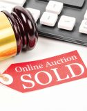 online auction sold