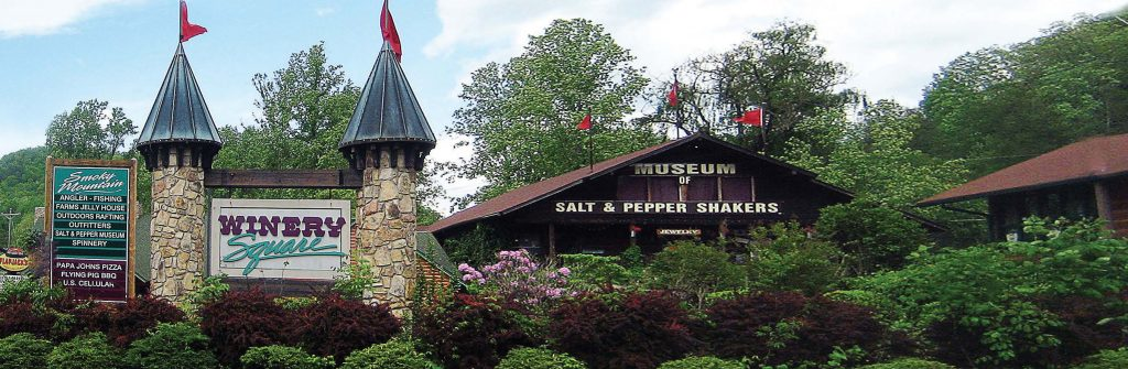 The Salt and Pepper Shaker Museum in Gatlinburg, Tenn., situated near the town's entrance to the Smoky Mountains National Park, opened in 2002 and hosts more than 200 visitors a day during the summer months. (Photo provided)