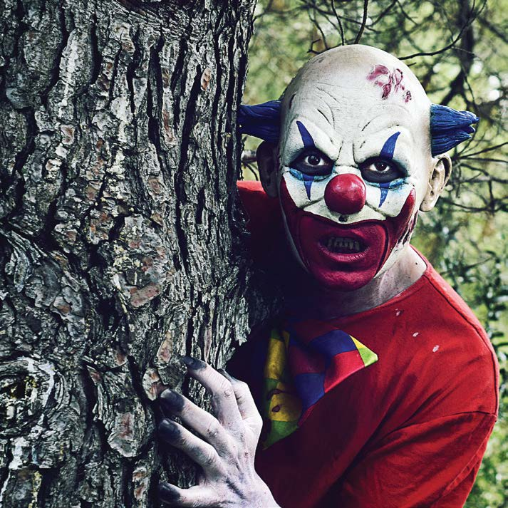"After the 2017, release of the movie ""It,"" there was concern that another clown epidemic would follow, but it has yet to happen. Hopefully, the creepy clown sightings will be a thing of the past. (Shutterstock.com)"