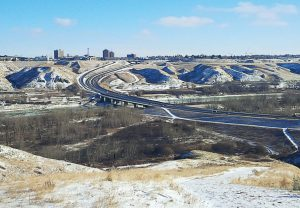The city of Lethbridge, Alberta, Canada, has utilized variable advisory speed limit on its Whoop-Up Drive to hopefully reduce collisions, particularly during winter when driving conditions are less than ideal. (Photo provided)