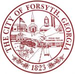The city of Forsyth GA 1823