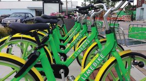 Should an act of vandalism or theft occur, LimeBike would handle the situation as per its agreement with the city of South Bend. (Photo provided)