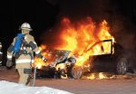 As more alternative fuel vehicles are rolled out, firefighters should never assume anything when responding to traffic accidents or car fires. Training is invaluable to address different scenarios involving alternative fuel vehicles. (Shutterstock.com)