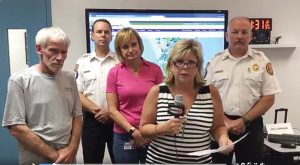 During Hurricane Irma, Dunedin broadcasted messages from the mayor, fire chief and other departments at the emergency operations center. While many people were without power, the messages could still be accessed by people who had internet through their smartphones. (Photo provided)