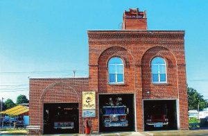 With a new firehouse being built on another location, Shelby's historic fire engine house will be structurally examined before a new purpose is determined. (Photo provided)