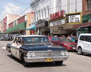 "The 1962 Ford Galaxie used as the sheriff's patrol car in ""The Andy Griffith Show"" is available for daily tours around town. The tours begin and end at Wally's Service Station. (Photo provided)"