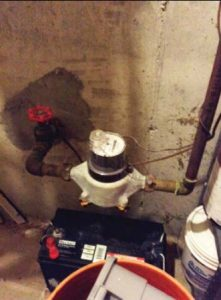 "Scheduling a time to install a smart water meter in the basement of a home can prove challenging, especially with vacant accounts or ""snow birds."" (Photo provided by PMI)"