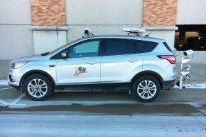 Appleton, Wis., purchased a SUV and decked it out in high-tech gear that allows its public works department to more effectively enforce parking ordinances. (Photo provided)