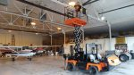 UTX Scissor Lift s can be attached to a variety of utility vehicles with the process taking under five minutes and requiring only one worker. (Photo provided)