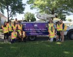 Members of the Saint Paul, Minn., Public Works Department pose before a community parade. The department has taken steps to develop a more diverse workforce. (Photo provided)