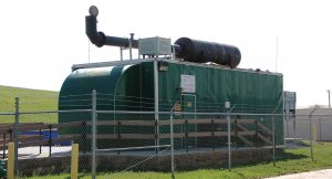 Denton's gas-to-energy generator powers homes within the community. Through community education, the solid waste department can work with citizens and businesses to reduce their amount of waste, diverting it before it even gets to the landfill. This can be done with programs such as composting. (Photo provided)