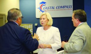 Corpus Christi's Citizens for Educational Excellence Director Janet Cunningham talks about the organization's efforts. CFEE has been a major driving force for the Talent Hub designation. (Photo provided)