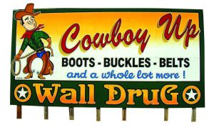 Western apparel is a mainstay at Wall Drug. The commercial complex also sells native American jewelry, T-shirts and other souvenirs. (Photo provided)