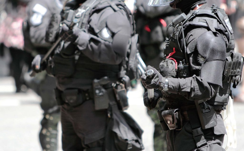 The militarization of police has been a heated topic for some time, with a recent study finding more militarized departments did not receive as much support from the public as those that weren't. Improvements in ballistic-resistant technology are better protecting officers while also looking less militaristic. (Shutterstock.com)
