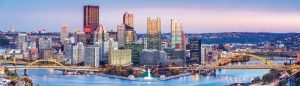 Known as the City of Bridges, Pittsburgh, Pa., is also gaining a reputation for its microgrid, of which its city government and mayor are very supportive. Microgrids' sustainability and reliability were a major plus for the city. (Shutterstock.com)