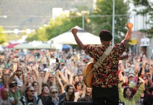 Due to the large population of college students, Missoula has a very active music scene. (Photo by Athena)