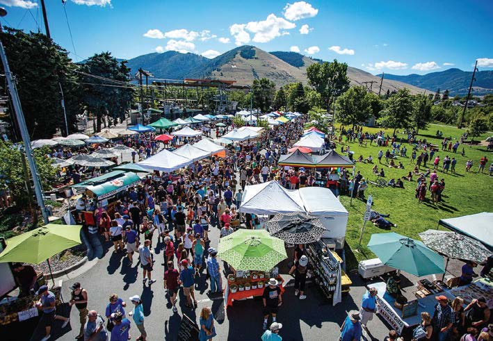Missoula prides itself on having an eclectic sense of community, a diverse mix of longtime residents, university students, artists, musicians and tourists. (Photo by Bari Love)