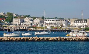 Old Harbor is one of two manmade harbors on Block Island.