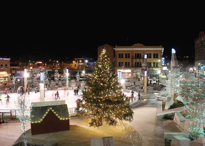 This photo is of Main Street Square, Rapid City, S.D. The city is a tourist destination due to its proximity to Mount Rushmore. (Photo provided)