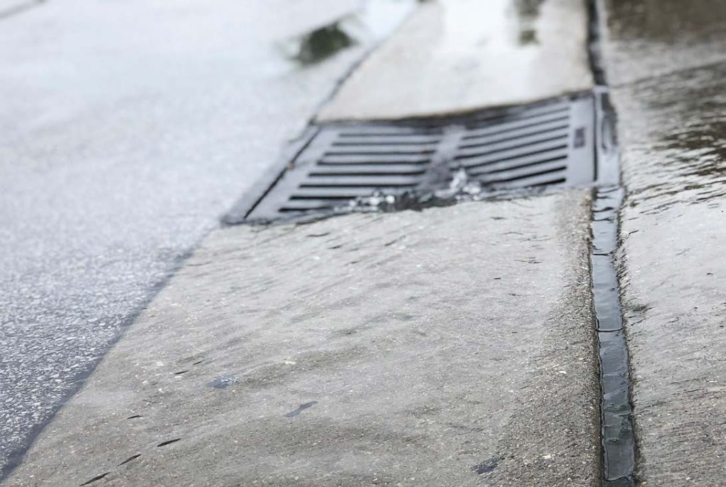 About 10 drains are adopted a week in Naperville since the program launched Oct. 1, 2018. (Photo provided)